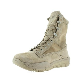 Rocky Mens Tactical Boots Military Desert