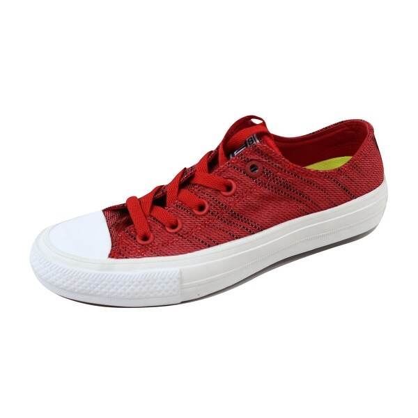 Converse Men's Chuck Taylor All Star II 2 OX Red/Black-White 151090C