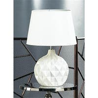 Gallery of Light 10018018 Geometric Round Table Lamp