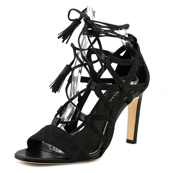 Elie Tahari Hurricane Women Black/Black Sandals