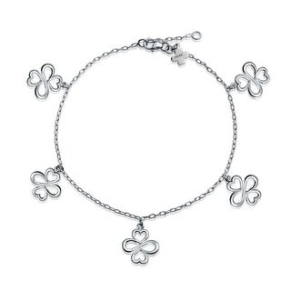 Bling Jewelry AYLLU Togetherness Anklet Sterling Silver 8in