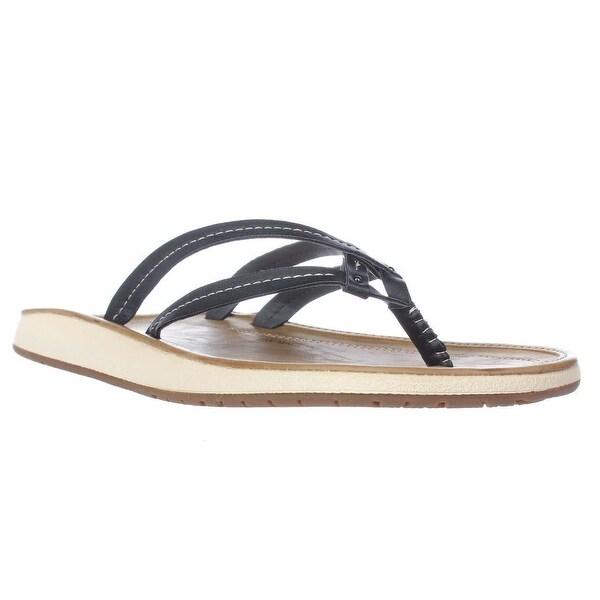 JBU Jambu Woodbury Comfort Filp Flop Sandals, Black