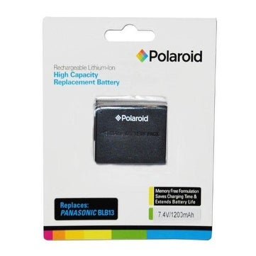 Polaroid High Capacity Panasonic BLB13 Rechargeable Lithium Replacement Battery