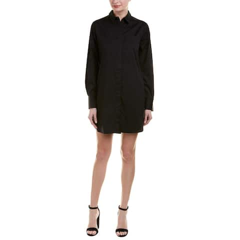 Kendall + Kylie Lace-Up Back Shirtdress