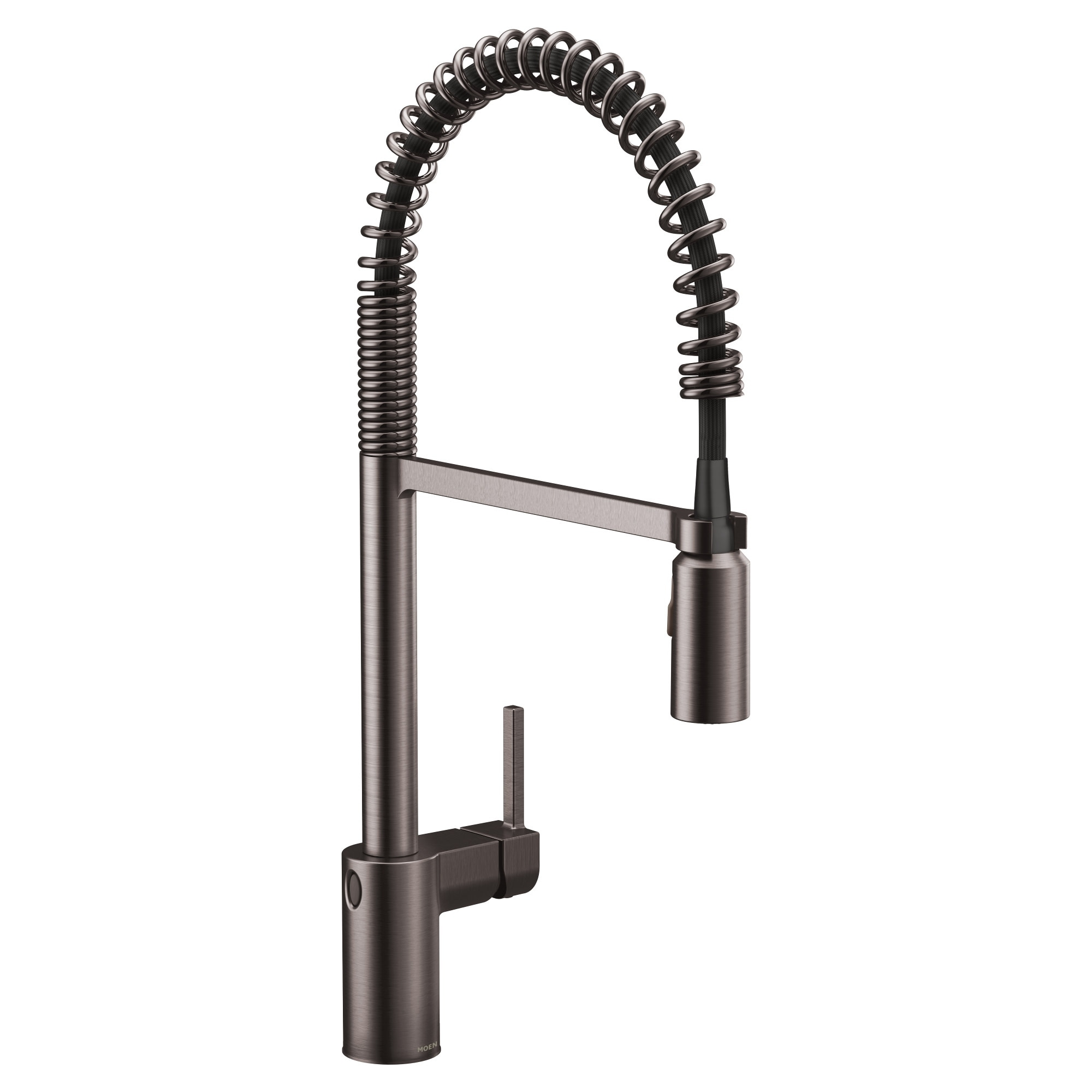 Moen 5923EW Align 1.5 GPM Single Hole Pull Down Kitchen Faucet with  MotionSense Wave, Duralast, Duralock, and Power Clean