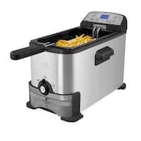 Kalorik Digital Deep Fryer with Oil Filtration