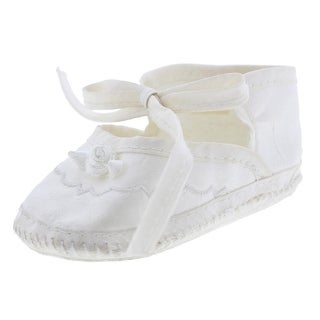 Little Things Mean A Lot Christening Infant Girls Casual Shoes - 3