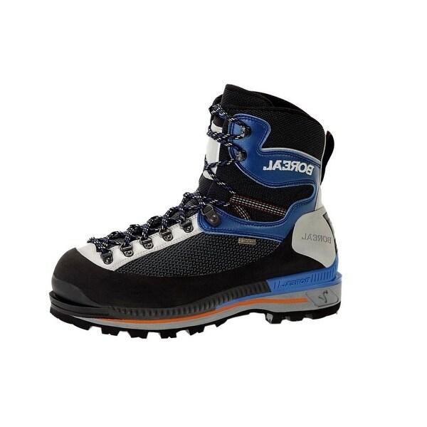 Boreal Climbing Boots Mens Lightweight Arwa Bi-Flex Gray Blue