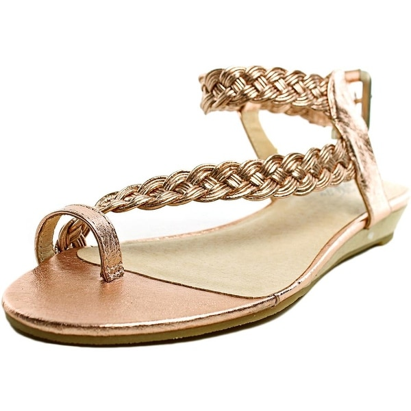 Very Volatile Aphrodite Open Toe Leather Thong Sandal