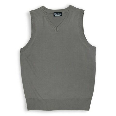 Boys Solid Color Sweater Vest (SV-243BOYS)