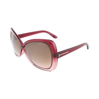 Tom Ford FT0277/S 68F JADE Pink Gradient Butterfly sunglasses - 60-14-135