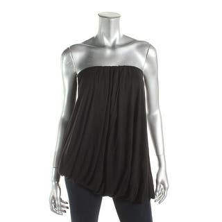 Chelsea Sky Womens Casual Top Bubble Hem Strapless - M https://ak1.ostkcdn.com/images/products/is/images/direct/acfdfbc4bb115d07dcb61b2c26d3d545285aa52b/Chelsea-Sky-Womens-Casual-Top-Bubble-Hem-Strapless.jpg?impolicy=medium