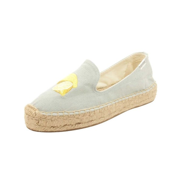 f088b7a79f6 Shop Soludos Lemon Platform Smoking Slipper - Free Shipping Today ...