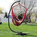 Sunnydaze Jumbo Hanging Chair Hammock Swing - Thumbnail 17