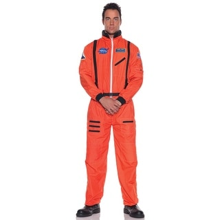 Plus Orange Astronaut Costume