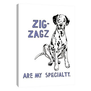 """PTM Images 9-105713  PTM Canvas Collection 10"""" x 8"""" - """"Dalmatian"""" Giclee Dogs Art Print on Canvas"""
