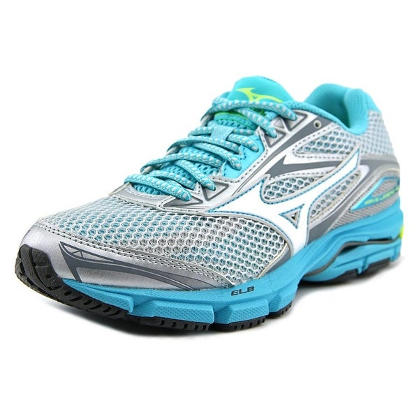 Mizuno Wave Legend 4 Women Round Toe Synthetic Blue Running Shoe