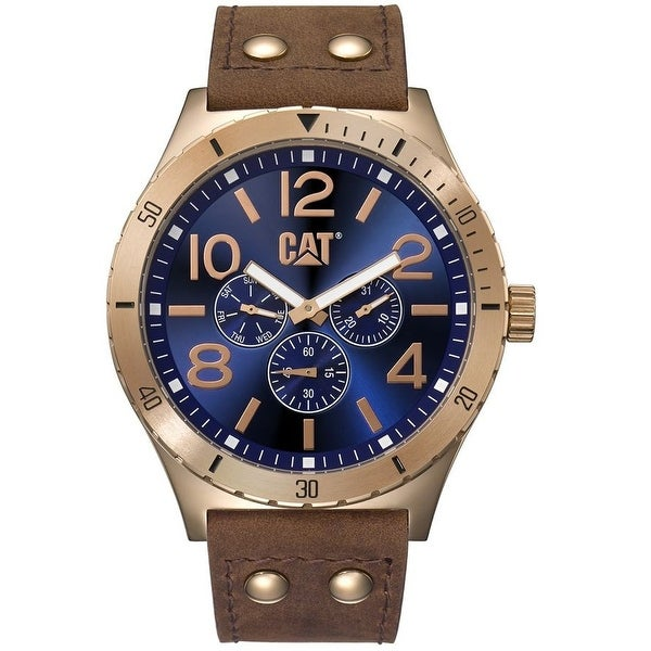 CAT Camden Multifunction mens Analg Watch Blue
