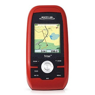 Magellan Triton 400 2.2-inch Handheld GPS w/ Built-in Maps & Compass Screen