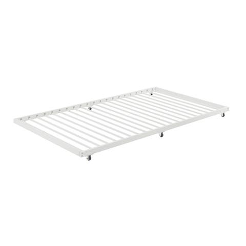 Offex Twin Roll-Out ONLY Trundle for Bed Frame - White