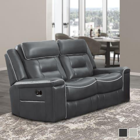 Belfield Double Lay Flat Reclining Love Seat