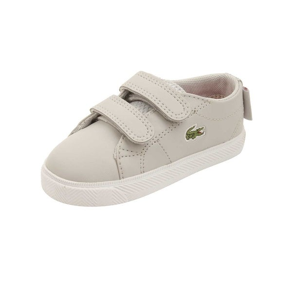 0b8fde5fa Shop Lacoste Infant Marcel Lace 216 Sneakers in Grey - Free Shipping ...