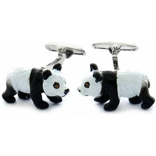 Panda Cufflinks Animal
