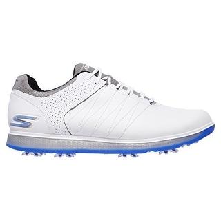 Skechers Performance Men's Go Golf Pro 2 Golf Shoe, White/Gray/Blue, 12 M US - white/gray/blue