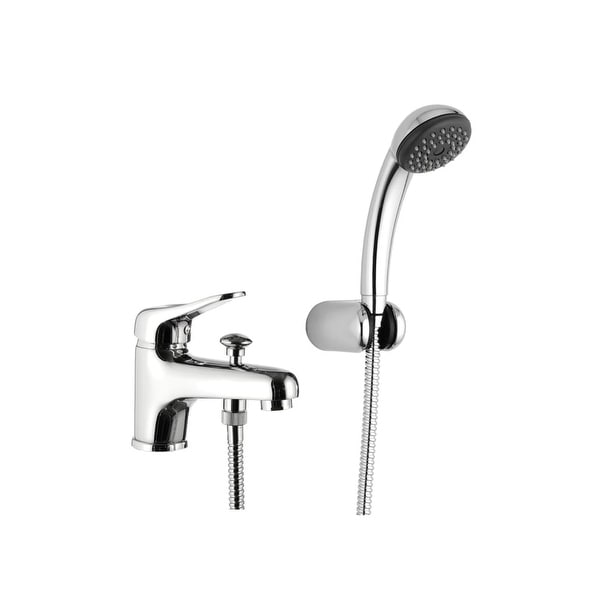Nameeks K03 Remer Deck Mount Tub Filler With Hand Shower And Wall Bracket Chrome