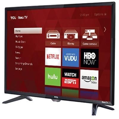 "Tcl 32S305 32"" Class Hd Roku Smart Tv With 720P Resolution, Dolby Digital Plus"