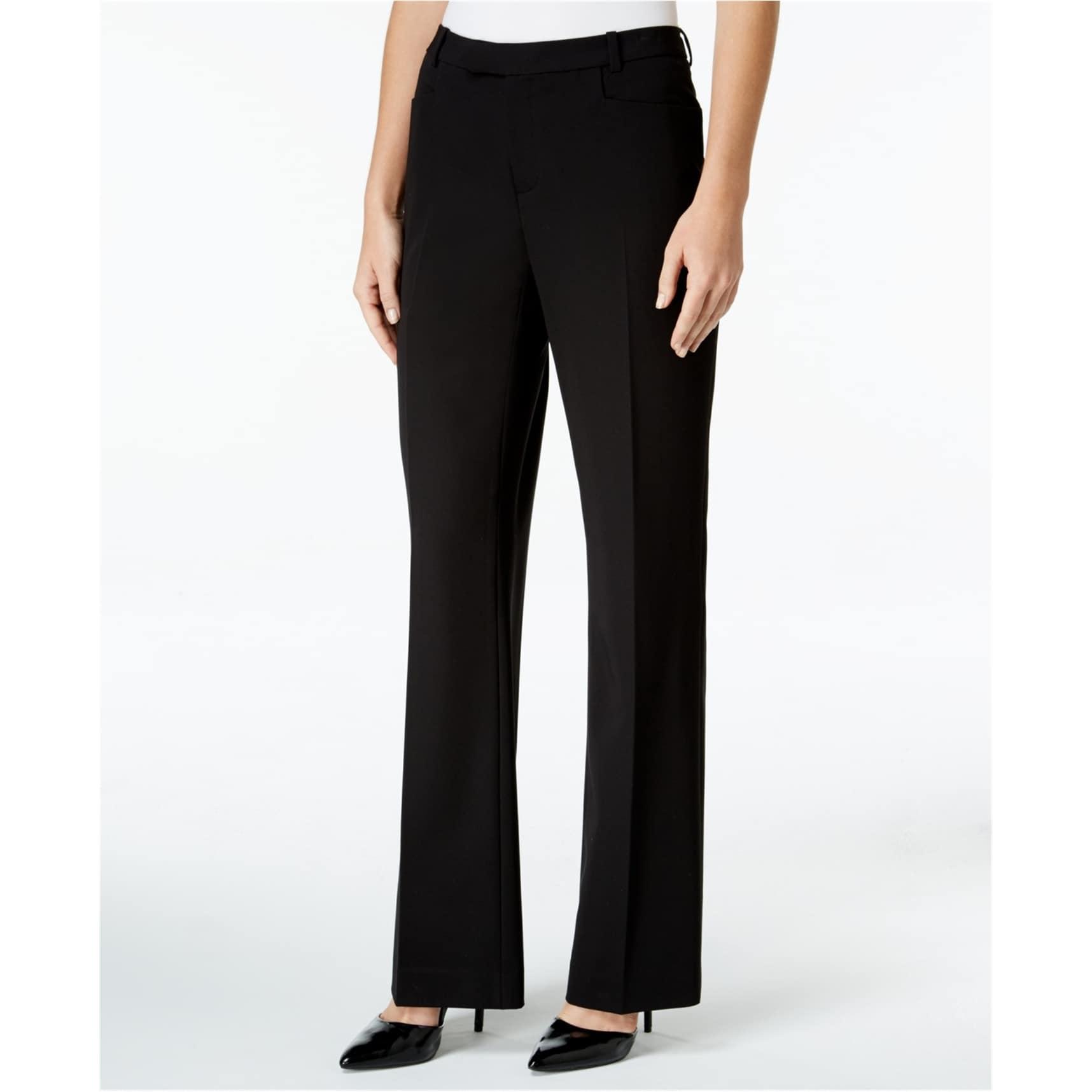 TOMMY HILFIGER NEW Women/'s Princeton Plaid Slim Leg Dress Pants TEDO