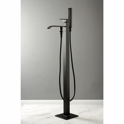Executive Freestanding Tub Faucet with Hand Shower
