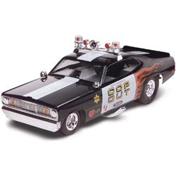 Plymouth Duster Cop Out Car 1:24 - Plastic Model Kit
