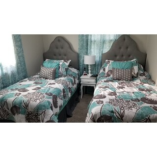 Intelligent Design Lily Aqua Comforter Set