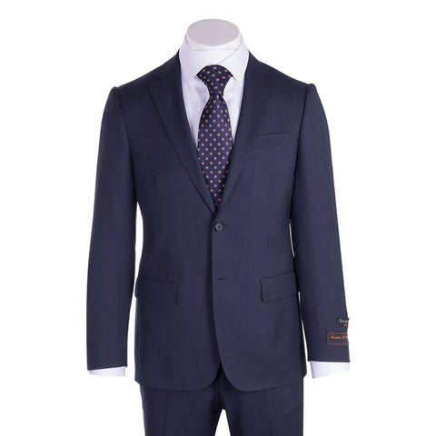 Novello Suit - Blue Birdseye, Modern Fit