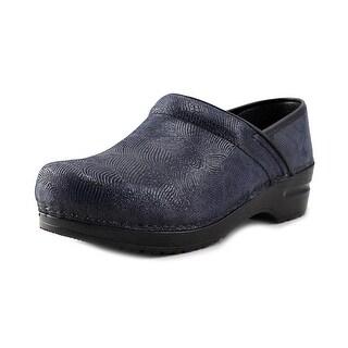 Sanita 02450033 Women Round Toe Synthetic Blue Clogs