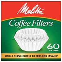 Melitta Coffee & Tea Filters Single Serve Coffee Filters 60 count (for use with JavaJig)