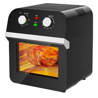 Link to Costway 12.7QT Air Fryer Oven 1600W Rotisserie Dehydrator Convection Similar Items in Fryers