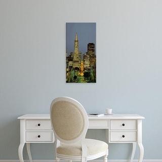 Easy Art Prints Panoramic Images's 'San Francisco CA' Premium Canvas Art