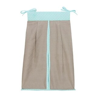 Trend-Lab 110202 Cocoa Mint - Diaper Stacker