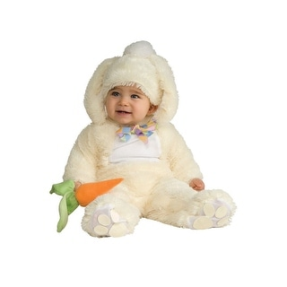 Rubies Noah's Ark Collection Vanilla Bunny Infant Costume - White - 0-6