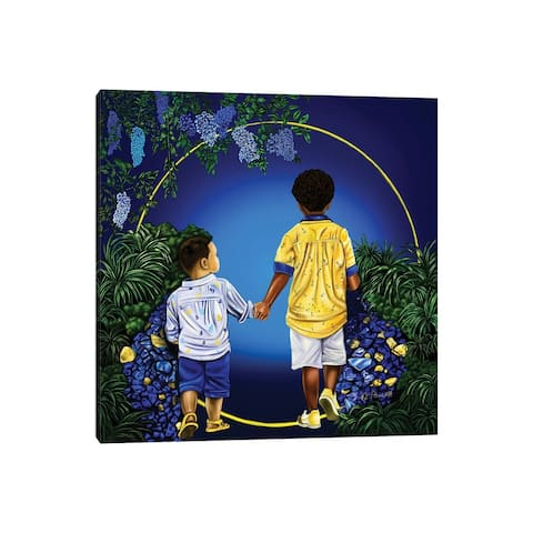 """iCanvas """"Journey With My Brother"""" by Poetically Illustrated Canvas Print"""