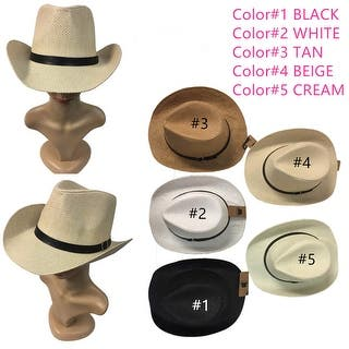 4e140041f1230 Women And Men Cowboy Hat Straw