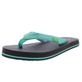 Sanuk Yoga Mat Toddler Girls Thong Sandals - 11-12 medium (b,m)