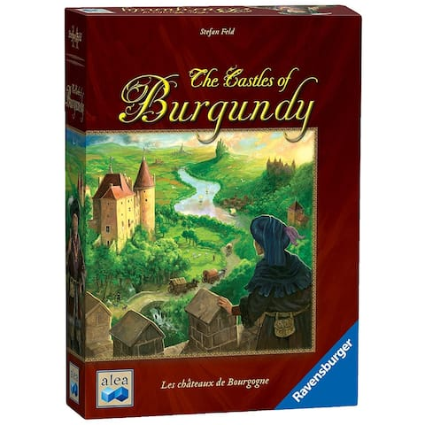 The Castles of Burgundy Board Game - Multi
