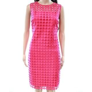 Lauren by Ralph Lauren Womens Lace Sheath Dress