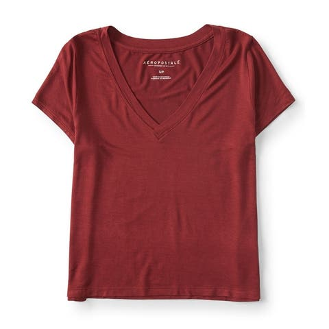 Aeropostale Womens Baby Basic T-Shirt