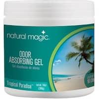 Natural Magic 4122D Odor Absorbing Gel, Tropical Paradise, 14 oz
