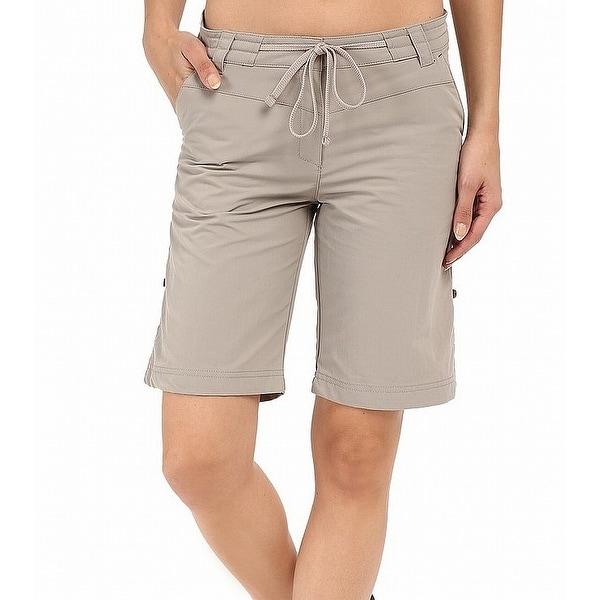 Pomona Women Drawstring Shorts Moon Wolfskin Medium Gray Size M Jack OZiTlPwkXu