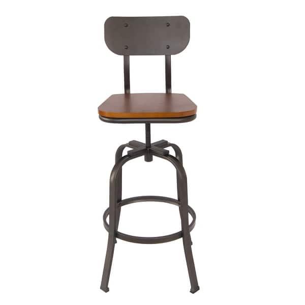 Fine Shop Delacora Bs Bibs005 Tara 42 Tall Metal Bar Stool Machost Co Dining Chair Design Ideas Machostcouk